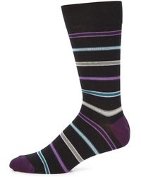 Saks Fifth Avenue - Collection Striped Socks - Lyst