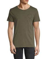 Zadig & Voltaire - Toma Graphic Cotton Tee - Lyst