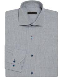 Saks Fifth Avenue - Basket Design Regular-fit Dress Shirt - Lyst