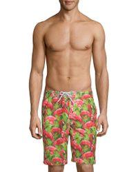 Trunks Surf & Swim - Printed Swami Board Shorts - Lyst