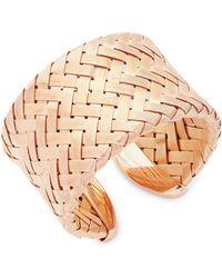 Roberto Coin - Hollow Woven Bracelet - Lyst