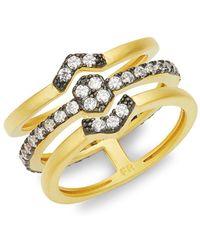 Freida Rothman - Crystal Contemporary Ring - Lyst
