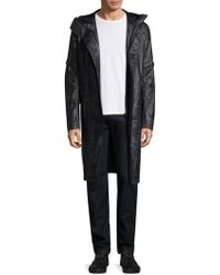 Helmut Lang - Flat Hood Raincoat - Lyst