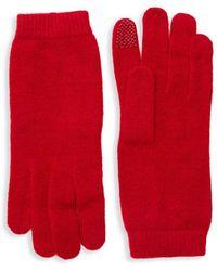 Portolano - Chenille Tech Gloves - Lyst