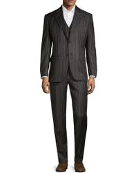 Brioni - Three-piece Wool Mohair Suit - Lyst