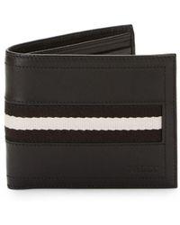 Bally - Leather Billfold Wallet - Lyst