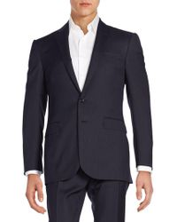 Ralph Lauren Black Label - Anthony Pin Dot Striped Suit - Lyst