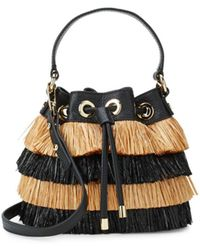 MILLY - Fringed Bucket Bag - Lyst
