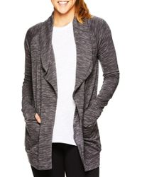 Gaiam - Piper Marled Open Front Cardigan - Lyst