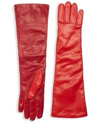 RED Valentino - Two-tone Long Gloves - Lyst