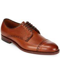 Allen Edmonds - Madison Cap-toe Leather Oxfords - Lyst