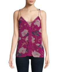 Ella Moss - Floral-print Camisole - Lyst