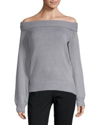 Lovers + Friends - Fun Seeker Off-the-shoulder Jumper - Lyst