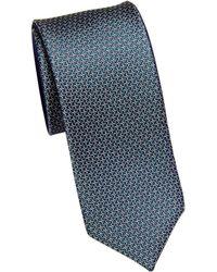 Saks Fifth Avenue - Mini Links Silk Tie - Lyst