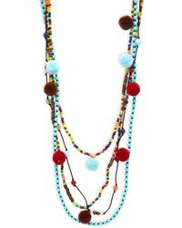 Panacea - Multi-layered Beaded Necklace - Lyst