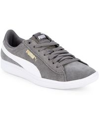PUMA - Vikky Suede Low-top Sneakers - Lyst