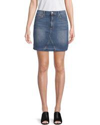 Joe's Jeans - Darcy High-waisted Denim Skirt - Lyst
