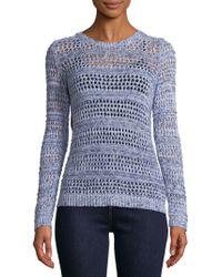 Soft Joie - Crewneck Cotton Sweater - Lyst