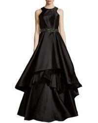 Mac Duggal - Ruffled Embellished Gown - Lyst