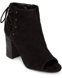 Nine West - Leather Beaded Booties - Lyst