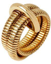 Diane von Furstenberg - Grand Prix Double Snake Ring - Lyst
