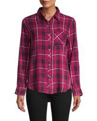 C&C California - Plaid Button-down Shirt - Lyst