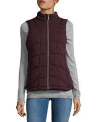 Marc New York - Knit Packable Vest - Lyst