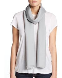 La Fiorentina - Lightweight Wool Scarf - Lyst