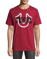 True Religion - Cheer Cotton Tee - Lyst