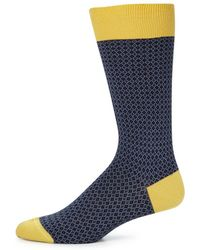Saks Fifth Avenue - Collection Multi-toned Socks - Lyst