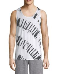Threads For Thought - Tie-dyed Cotton Tank Top - Lyst