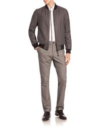 Strellson - Textured Ribbed Jacket - Lyst