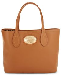 Roberto Cavalli - Small Leather Tote Bag - Lyst