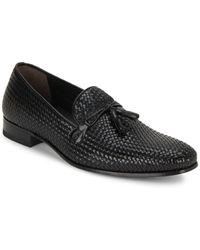 Mezlan - Leather Tassel Loafers - Lyst