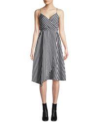 Tracy Reese - Asymmetric Slip Dress - Lyst