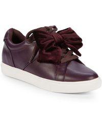 Saks Fifth Avenue - Tabee Ribbon Low-top Sneakers - Lyst