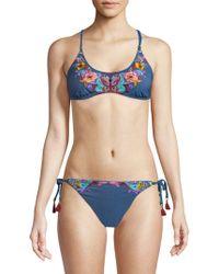 Nanette Lepore - Dazed Enchanter Bikini Top - Lyst