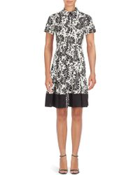 Shoshanna - Floral Campbell A-line Dress - Lyst
