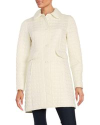 Kate Spade - Packable Quilted Coat - Lyst