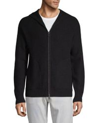 Vince - Full-zip Cashmere Hoodie - Lyst