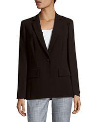 Lafayette 148 New York - Lorelle Sheer Sleeve Tech Cloth Jacket - Lyst