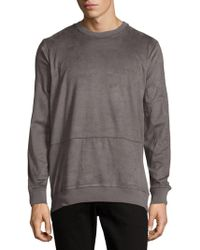 Cohesive & Co. - Ultra Suede Pullover - Lyst