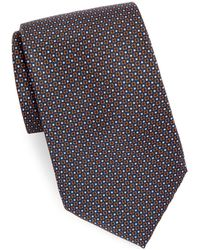Brioni - Mini Dots Silk Tie - Lyst