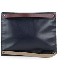 Valentino - Leather Zip Wallet - Lyst