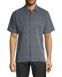 f0b3be4b Tommy Bahama - Textured Silk Sportshirt - Lyst