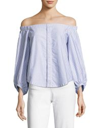 Mcguire - Navarte Off-the-shoulder Top - Lyst