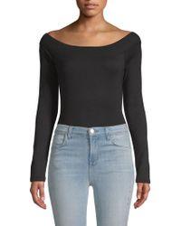 Splendid - Off-the-shoulder Bodysuit - Lyst