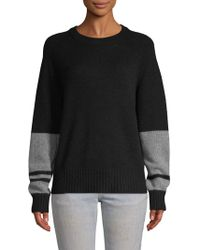 Skull Cashmere - Double Stripe Cashmere Sweater - Lyst