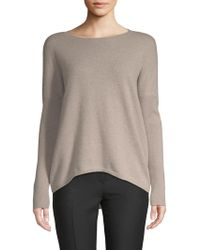 Saks Fifth Avenue - Drop-shoulder Cashmere Jumper - Lyst