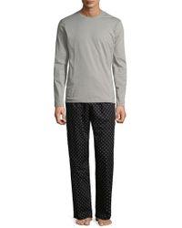 CALVIN KLEIN 205W39NYC - Cotton Pajama Set - Lyst